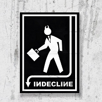 Indecline Poster (Large)