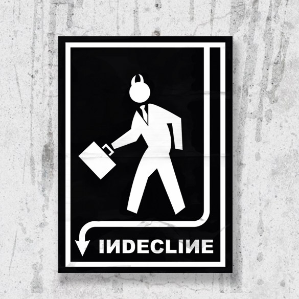 Indecline Poster (Small)