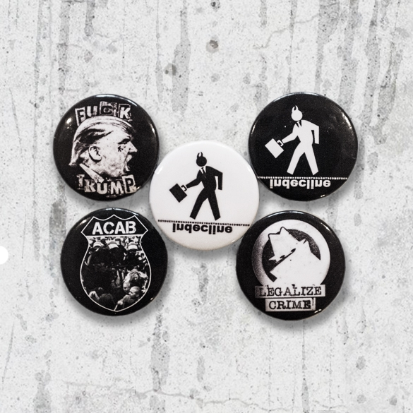 Indecline Button Pack