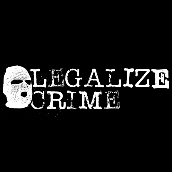 Legalize Crime Ninja Mask