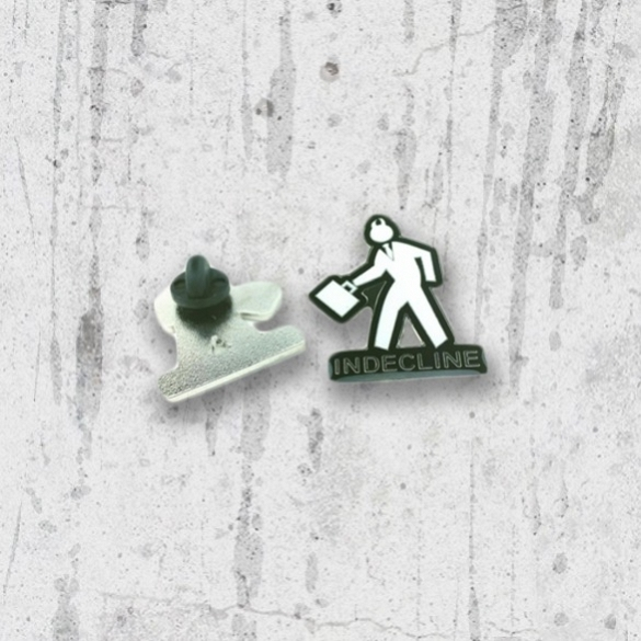 Indecline Hat Pin