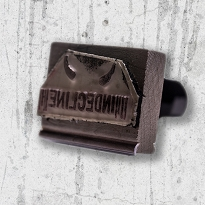 Behind Bars : Indecline Stamp