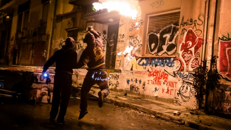 Greece Lightning : The Alexis Grigoropoulos Riots
